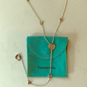 Tiffany & Co. Jewelry - Tiffany & Co Retired Heart Lariat Necklace 🎁 ❤️